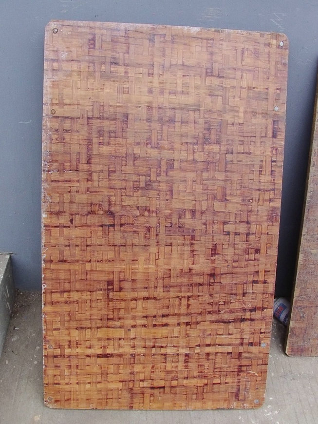 Bamboo plastic pallets